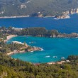 Paleokastritson Greek island of Corfu — Stock Photo #37633751