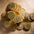 Stock Photo: Lots of gold coins