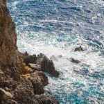 Ionian Sea near Paleokastritsa on Corfu Island — Stock Photo #37865477