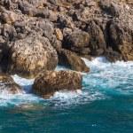 Ionian Sea near Paleokastritsa on Corfu Island — Stock Photo #37865523