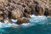 Ionian Sea near Paleokastritsa on Corfu Island — Stock Photo