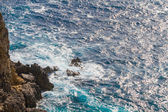 Ionian Sea near Paleokastritsa on Corfu Island — Stock Photo