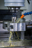Steel pipe cooling with oil — Stockfoto
