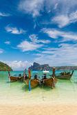 Paradise beach of Koh Phi Phi — Foto Stock