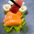 Fresh Japanese food Sushi — Stock Photo #39088451