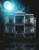Spooky old house — Stock Photo