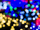 Abstract circular bokeh background — Stock Photo