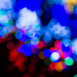 Stock Photo: Abstract circular bokeh background
