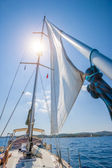 Yacht. Sailing. Yachting. Tourism — Stock Photo