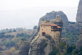 Monareties on Meteora — Stock Photo