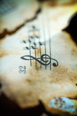 Music Background.Vintage. — 图库照片