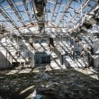 Stock Photo: Abandoned base Military barracks