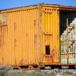Stock Photo: Old and rusty container