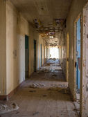 Abandoned Military barracks — Stock Photo
