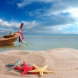 Starfish on the beach in Thailand — Stock Photo #41418031
