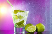 Mojito cocktail at the club — Stock Photo