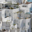 Stock Photo: View on Oia in Santorini