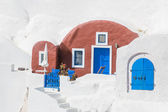 House of Santorini — Foto Stock