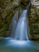 The waterfall of Nidri in Lefkas — Stockfoto