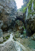 The waterfall of Nidri in Lefkas — Foto Stock