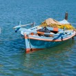 Fishing boat in Greece — Stock Photo