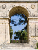 The fabulous museum of asiatic art in Esplanada Square at Corfu  — Stock Photo