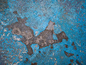 Blue concrete background texture — Stock Photo
