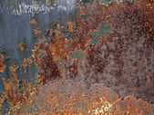 Rusty metal grunge background — Stock Photo