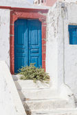 Traditional greek house on Mykonos island — Stock Photo