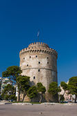 The white tower at Thessaloniki city  — ストック写真
