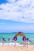 Wedding arch in Phuket  — Stock Photo