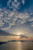 Ver en oia, Santorini — Foto de Stock