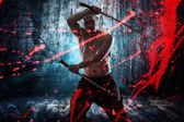 Japanese  katana sword  — Stock Photo