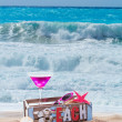 Cocktail on the beach — Stock Photo #47405853