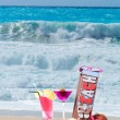 Cocktail on the beach — Stock Photo #47405917