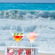 Cocktail on the beach — Stock Photo #47405973
