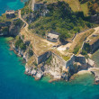 Old Byzantine fortress in Corfu, Greece — Stock Photo #48194353