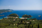 Paleokastritsa bay, Corfu, Greece — Stock Photo