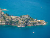 Old Byzantine fortress in Corfu — Stock Photo