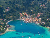 Aerial view of Paxos island — ストック写真