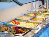 Food buffet in restaurant — Stock Photo