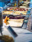 Food buffet in restaurant — Stock Photo