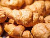 Croissants for breakfast — Stock Photo