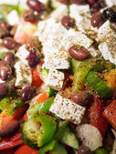 Vegetable greek salad  — Stock Photo
