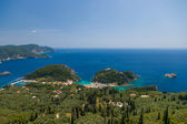 The bay of Paleokastritsa in Corfu — Stock Photo