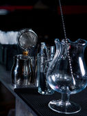 Bartender tools at the club — Stockfoto