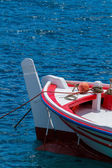 Fishing boat close up in the Harbor of Meganisi island  — Stock Photo