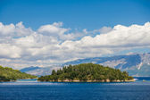 The Skorpios island in Nidri Lefkada  — Stock Photo