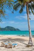 Paradisiac beach of Laem Ka, Koh Phuket  — Stock Photo