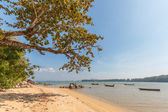 Coconut island beach of Nai Yang Koh Phuket  — Stock Photo